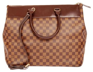 Louis Vuitton Damier Canvas Brown Travel Bag