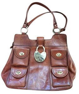 Betsey Johnson Tote in Cognac Brown