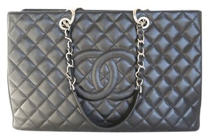 Chanel Caviar Xl Gst Xl Shoulder Bag