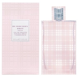 Burberry Brit Burberry Brit SHEER 3.3 Oz EDT for Women