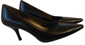 Calvin Klein Leather Pump Classic Black Pumps