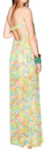 Yellow Multi Maxi Dress by Show Me Your Mumu Maxi Print Tube