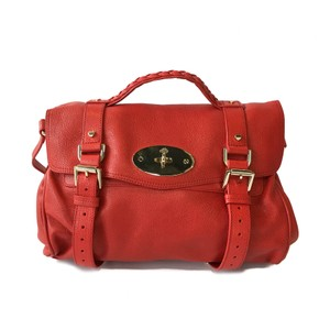 Mulberry Tote in Red
