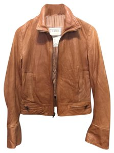 Duarte Tan Leather Jacket