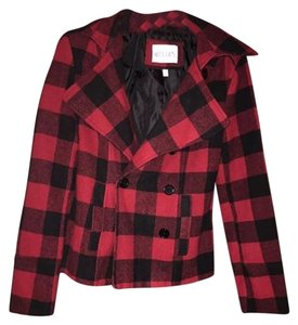 dELiA*s Wool Plaid Jacket Coat