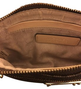 Michael Kors Collection Wristlet in Brown