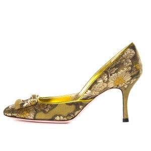 Christian Lacroix Green Pumps