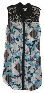 Peter Pilotto for Target short dress Blue on Tradesy