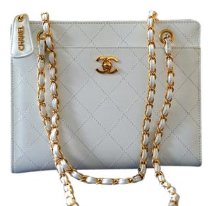 Chanel Classicflap Tote in White