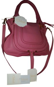 Chloé Marcie Medium Satchel in Magnolia Pink