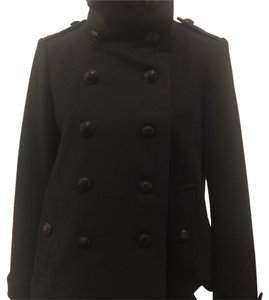 Burberry Wool Chic Pea Coat