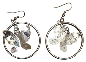 Other Hoop earrings with butterflies