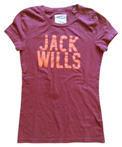 Jack Wills T Shirt Olive purple