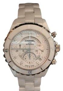 Chanel Chanel J12 41mm Chronograph Diamond Face H2009