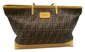 Fendi Designer Limited Edition Tote in Tobacco