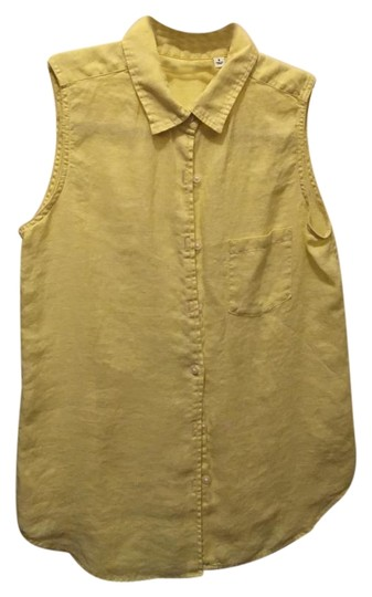 fdd69c8e92ad2a 60%OFF Uniqlo Citron Premium Linen Shirt Button Down Shirt - kdb.co.ke