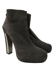 Brian Atwood Ankle Grey Boots