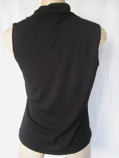 Magaschoni Mag For Bloomingdales Cowl Neck Size M Top Black - 53% Off Retail hot sale 2017
