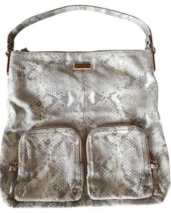 Kate Spade Animal Print Textured Leather Shoulder Bag