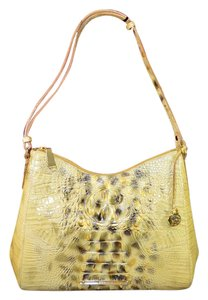 Brahmin Gracie Croco Shoulder Bag