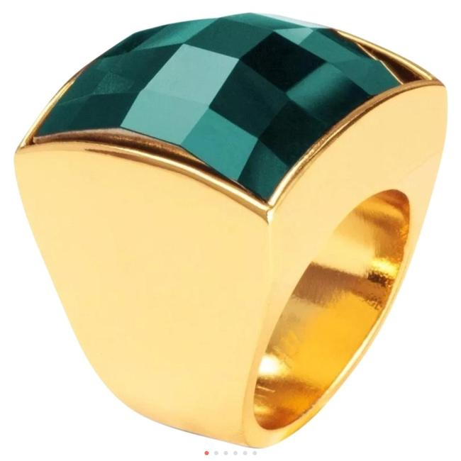 Item - Green Emerald Look Stone Small Ring