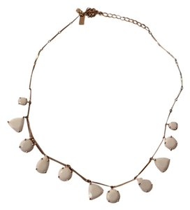 Kate Spade Kate Spade Twinkle Lights small frontal Necklace, White