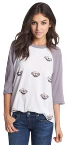 Wildfox T Shirt Gray