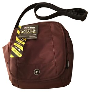 Pacsafe Anti-theft Brown Travel Bag