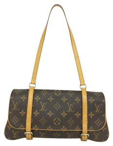 Louis Vuitton Lv Marelle Canvas Brown Shoulder Bag