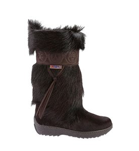 Pajar Winter Fur Designer Snow New Brown Boots