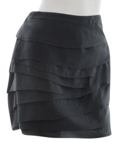 Ann Taylor Mini Mini Skirt Dark Grey