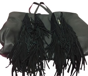 Silpada Leaher Suede Fringe Limited Edition Shoulder Bag