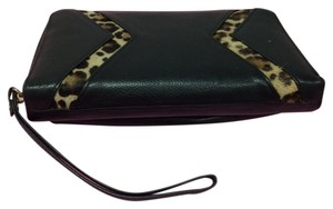 Silpada Wristlet in BLACK LEATHER AND COWHIDE