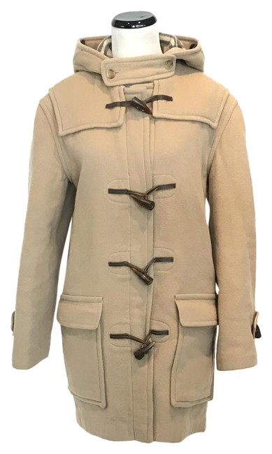 Item - Beige Toggle Wool Coat Size 6 (S)