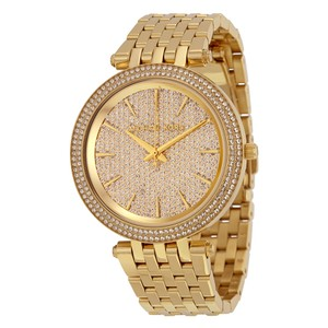 Michael Kors Darci Crystal Pave Gold-Tone Stainless Steel Ladies Watch MK3438
