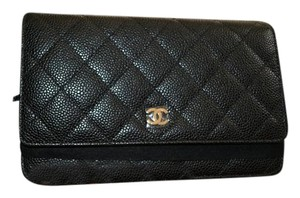 Chanel Woc Wallet Gold New Cross Body Bag