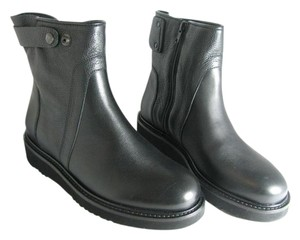 Vince Motocycle Ankle black Boots