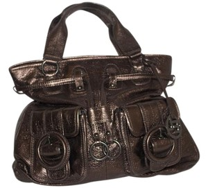 Elliott Lucca Satchel in Bronze