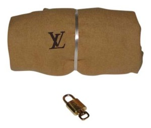 Louis Vuitton Louis Vuitton Dust Sleeper Bag with Padlock and Key