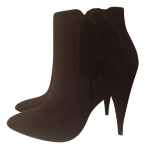 Express Black Suede Boots