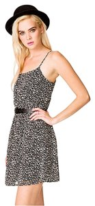 Forever 21 short dress Animal print F21 Chiffon on Tradesy