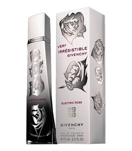 Givenchy VERY IRRESISTIBLE ELECTRIC ROSE EDT Spray ~ 2.5 oz / 75 ml