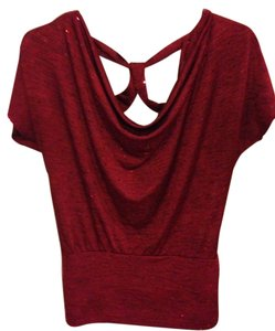 HeartSoul Sequin Size Medium Top Red