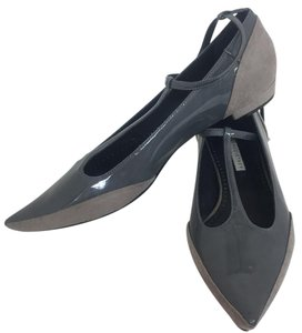 Stella McCartney Grey Flats