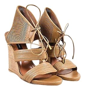 Derek Lam Sahara Leather Tan Sandals