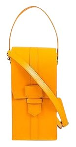 Salvatore Ferragamo Marigold Leather Balva Shoulder Bag