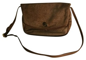 Borbonese Satchel in Multi Brown