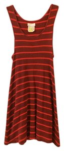 Free People short dress Red, burgundy on Tradesy