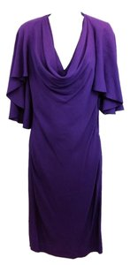 Alexander McQueen Purple Dress