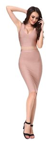 Adyce short dress light pink New Clubbing Bodycon Herve Ledger on Tradesy